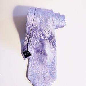 CLUB ROOM Silk Lilac Men's Necktie